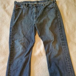 Polo Ralph Lauren Blue Jeans 15941 Straight 38x30
